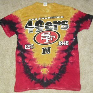 San Francisco 49ers Tie Dye vintage 90s T-shirt